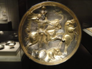 Sasanian archer 7th_century_AD